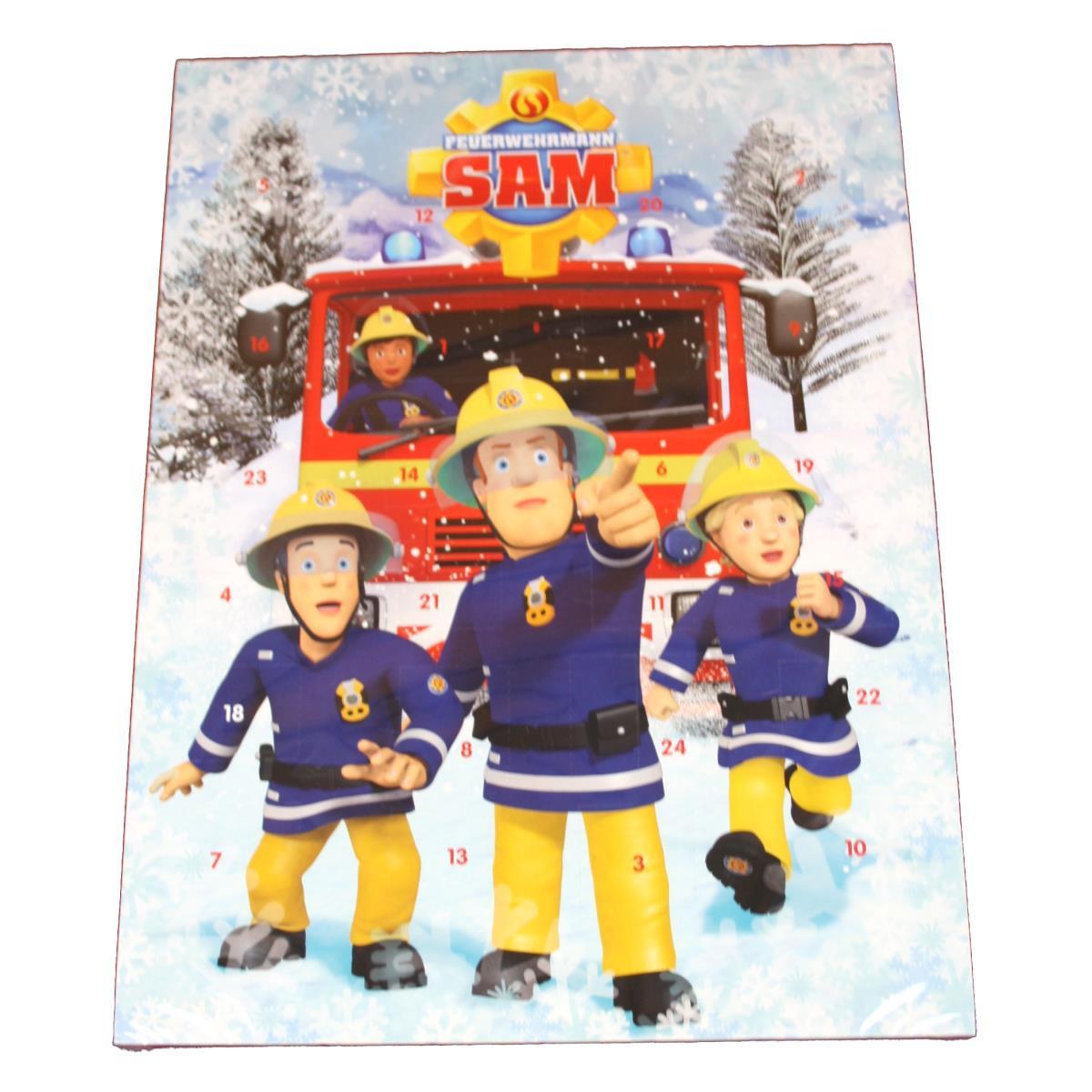 Windel Weihnachtskalender.Windel Feuerwehrmann Sam Adventskalender 75g Weihnachtskalender Kalender