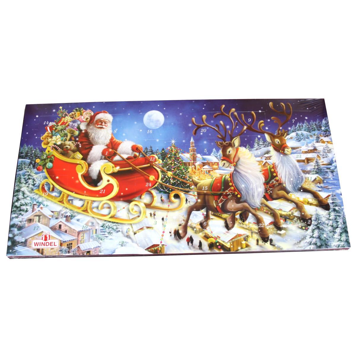 Windel Weihnachtskalender.Windel Adventskalender 250g Vollmilchschokolade Kalender