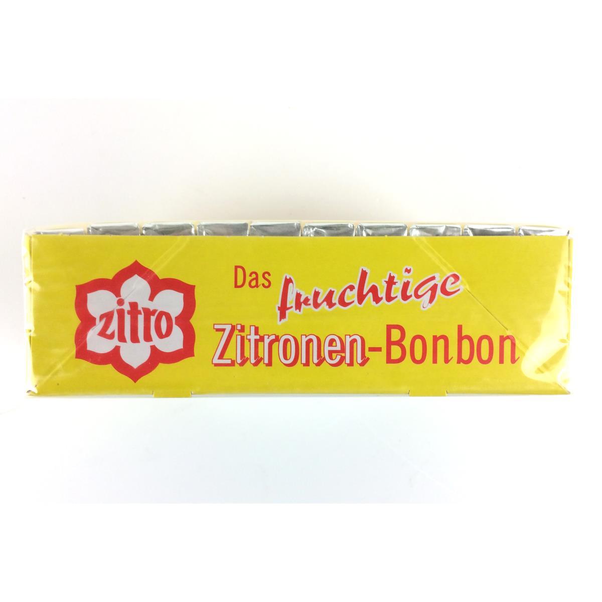 Zitro Zitronen Bonbon, fruchtige  Zitronenbonbons, Zitrone, 100 er,Pfeffi plus e.K.,4016600001862, 4016600001862