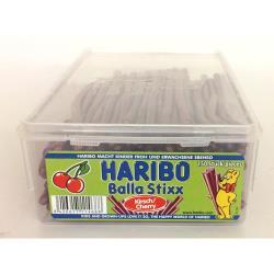 Haribo Balla Stixx Kirsch Fruchtgummi Stangen, Dose mit ca. 150 Stück / 1125 g,Haribo,8426617114688, 8426617114688