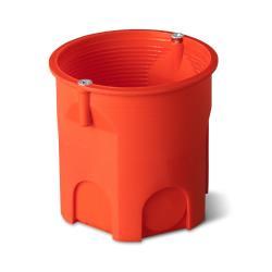 Unterputzdose Schalterdose Ø 60 x 63 mm orange