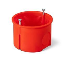 Unterputzdose Schalterdose Ø 60 x 40 mm orange,Elektro-Plast,0281-01, 5901752632899