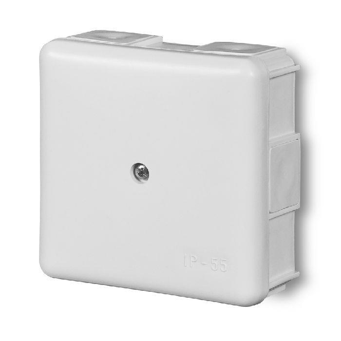 Abzweigdose Verteilerdose IP55 weiß 86x86x39 Aufputz Verbindungsdose EP-LUX,Elektro-Plast,0226-01, 5901130480227