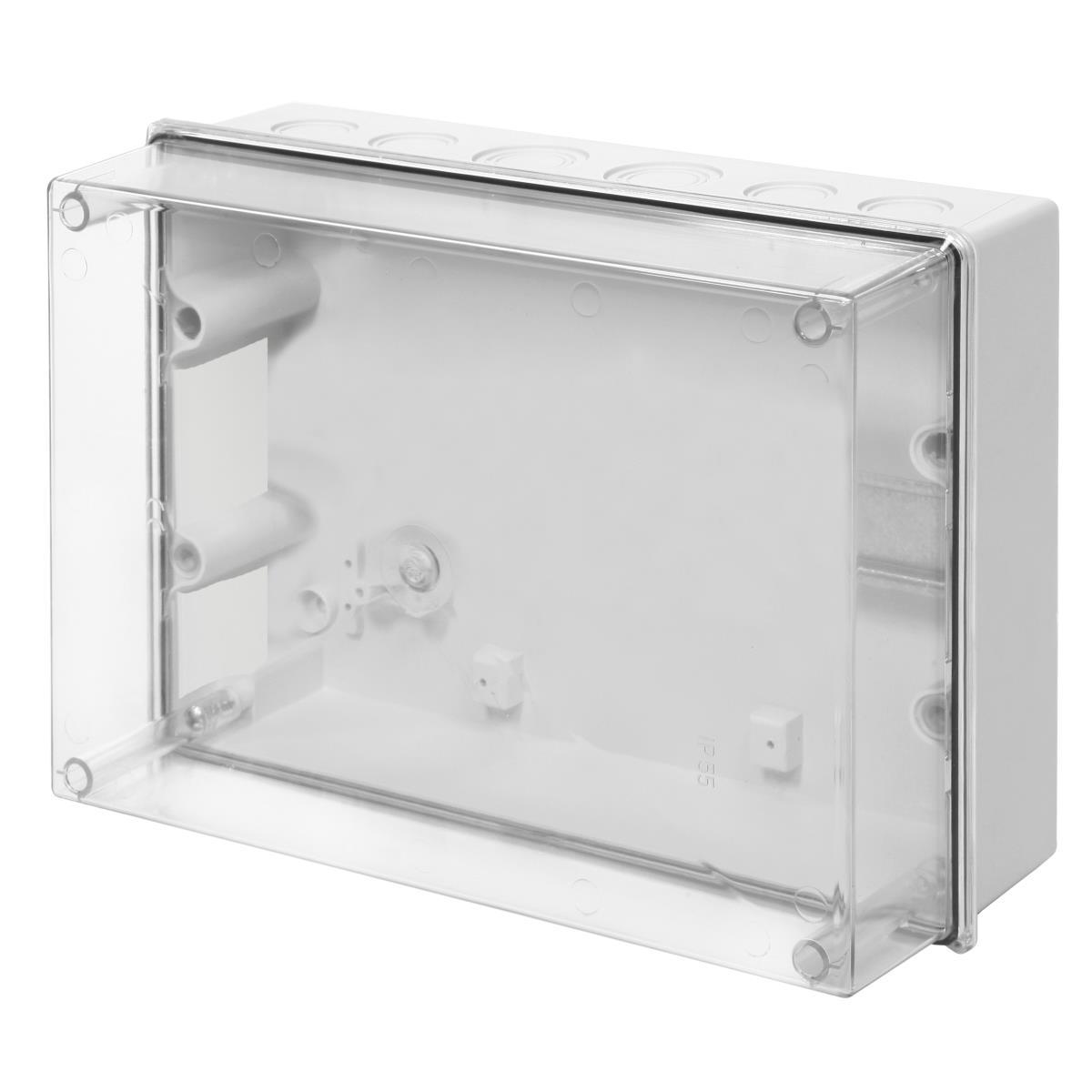 Aufputz Schalkasten IP55 Verteilerkasten 303x213x125 transparent Gehäuse,Elektro-Plast,0253-20, 5906868438809