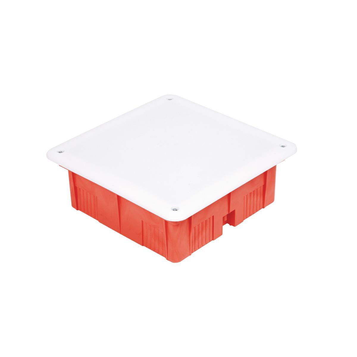 unterputz abzweigkasten 185x185x75 abzweigdose up geh use mit wei em deckel. Black Bedroom Furniture Sets. Home Design Ideas