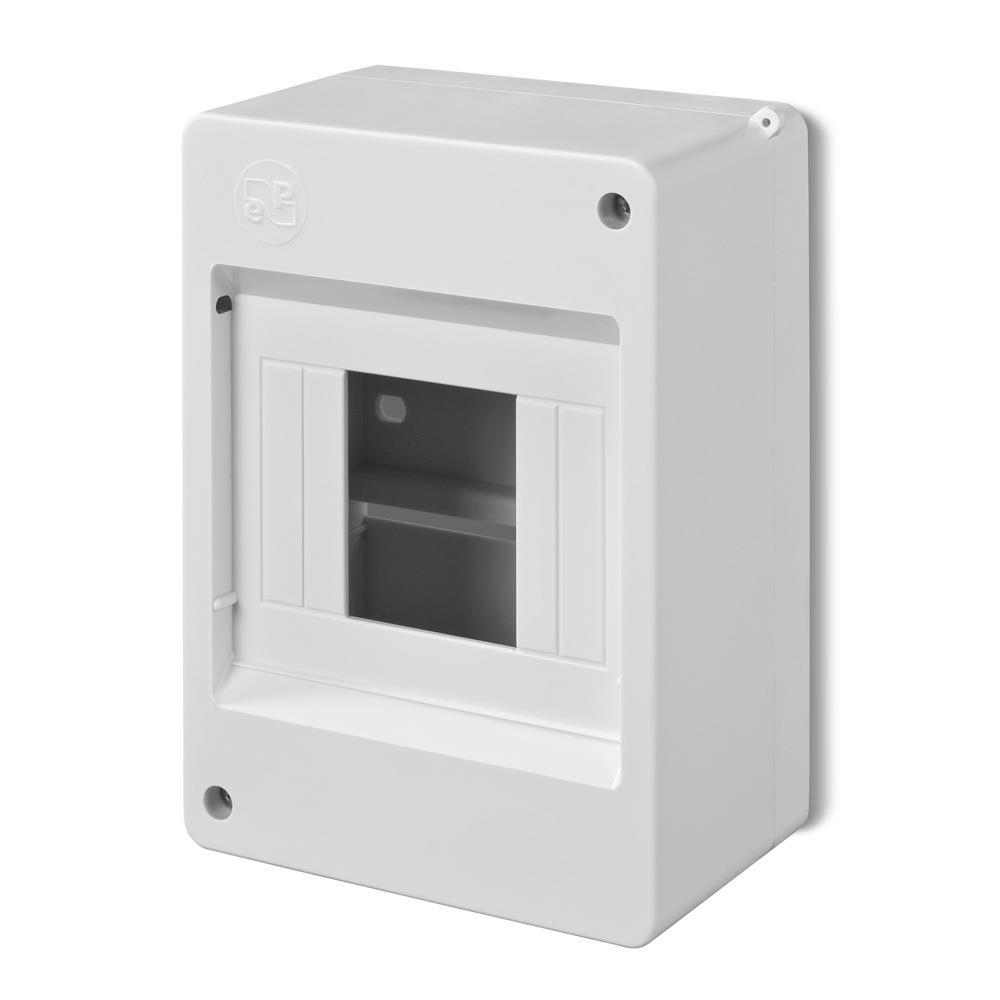 Sicherungskasten Verteilerkasten Aufputzverteiler 4 Module IP20,Elektro-Plast,0630-00, 5902431691541