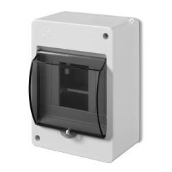 Sicherungskasten Verteilerkasten Aufputzverteiler 4 Module Aufputz IP30,Elektro-Plast,0630-01, 5902431691824