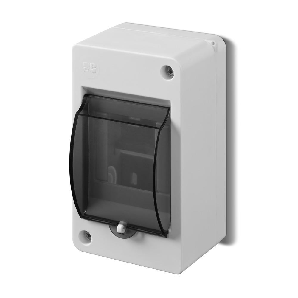 Sicherungskasten Verteilerkasten 3 Module Aufputz IP30,Elektro-Plast,0641-01, 5902431691794