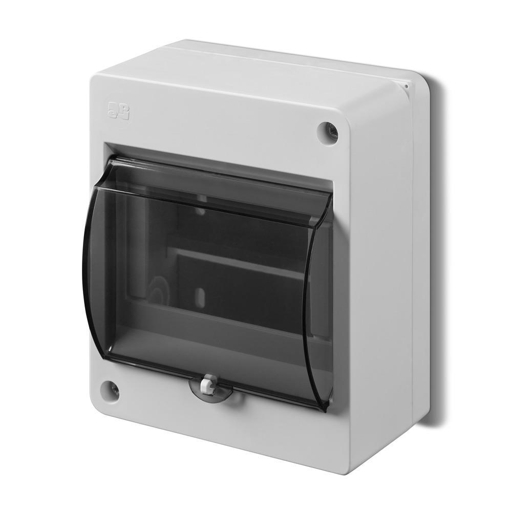Sicherungskasten Verteilerkasten Aufputzverteiler 5 Module Aufputz IP30,Elektro-Plast,0642-01, 5902431691855