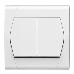 Serienschalter Unterputz 10A 230V Lichtschalter weiß serie FESTA,EPN,0852-00, 5907569150373