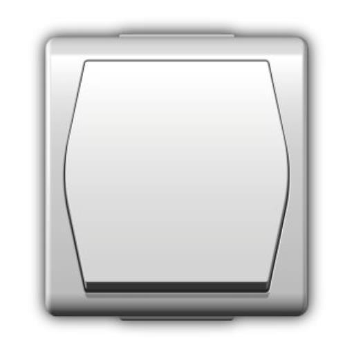 Aufputz Schalter einpolig IP44 10 A 230 V weiß HERMES2,Elektro-Plast,1001-00, 5907569150793