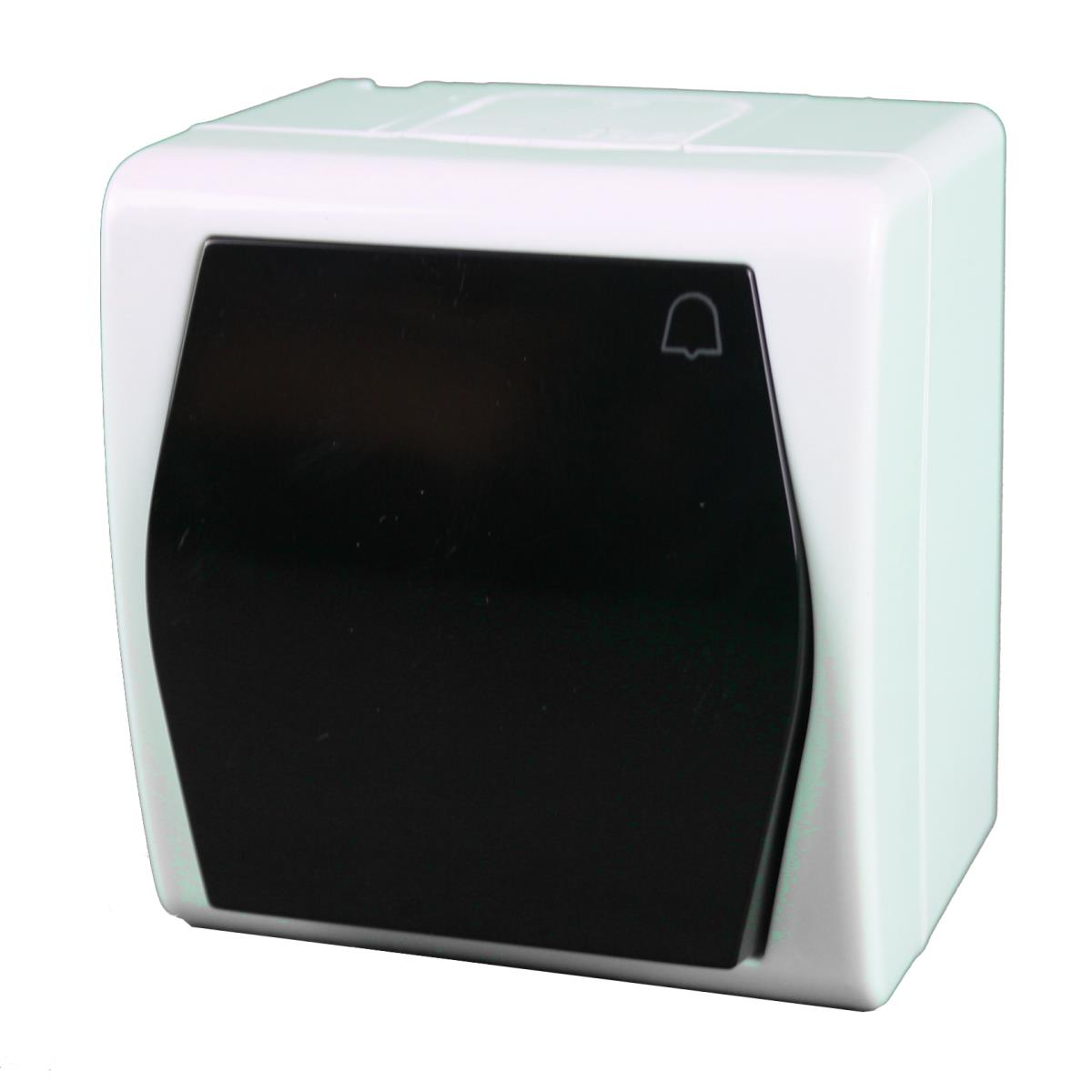 Aufputz Serienschalter IP20 Lichtschalter farbe weiß serie OKKO
