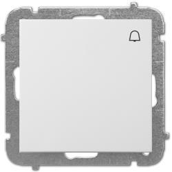 Unterputz Taster Klingel Lichtschalter 10A weiß Premium serie SENTIA,Elektro-Plast,1414-10, 5906868430506