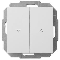 Unterputz Jalousien Taster 10A weiß Premium serie SENTIA,Elektro-Plast,1416-10, 5906868430582