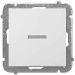Unterputz Lichtschalter Beleuchtet 10A weiß Premium serie SENTIA,Elektro-Plast,1423-10, 5906868430704