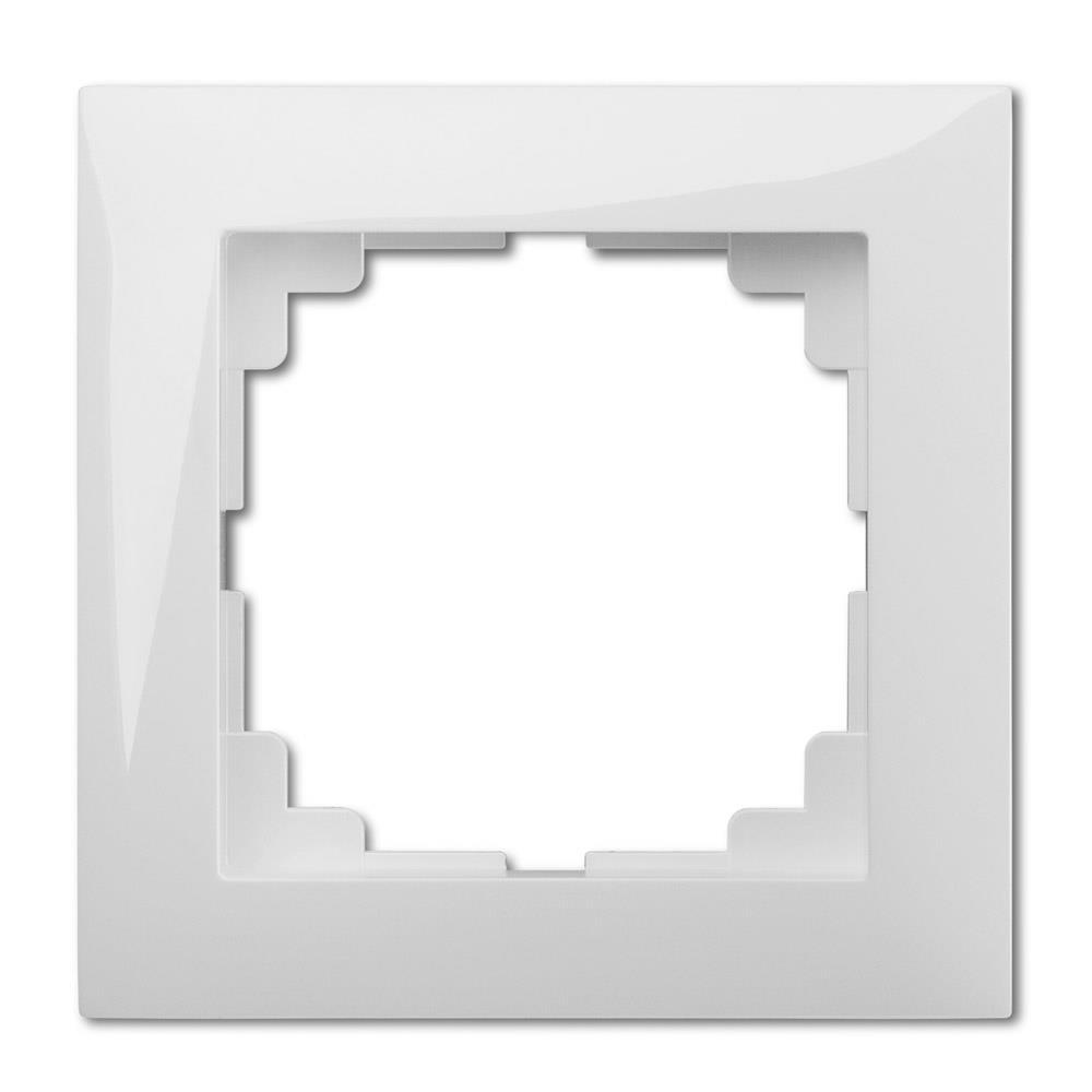 Universal Rahmen 1-fach weiß Premium serie SENTIA,Elektro-Plast,1471-00, 5906868431763