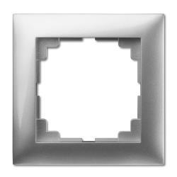 Universal Rahmen 1-fach silber Premium serie SENTIA,Elektro-Plast,1471-56, 5901752630727