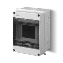 Sicherungskasten Verteilerkasten Aufputzverteiler 5 Module Aufputz IP40,Elektro-Plast,1901-01, 5901752633971