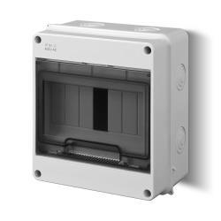 Sicherungskasten Verteilerkasten Aufputzverteiler 7 Module Aufputz IP40,Elektro-Plast,1902-01, 5901752633995