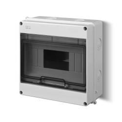 Sicherungskasten Verteilerkasten Aufputzverteiler 9 Module Aufputz IP40,Elektro-Plast,1903-01, 5901752634015