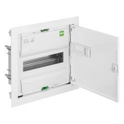 Unterputz VDE Sicherungskasten 1x12 Verteilerkasten Kleinverteiler serie MSF RP,Elektro-Plast,2001-00, 5907569154296