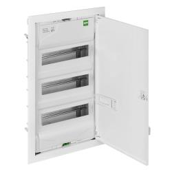Unterputz VDE Sicherungskasten 3x12 Verteilerkasten Kleinverteiler serie MSF RP,Elektro-Plast,2003-00, 5907569154302