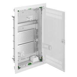 Unterputz VDE Multimedia Kleinverteiler 3-Reihig Verteilerkasten serie MSF RN