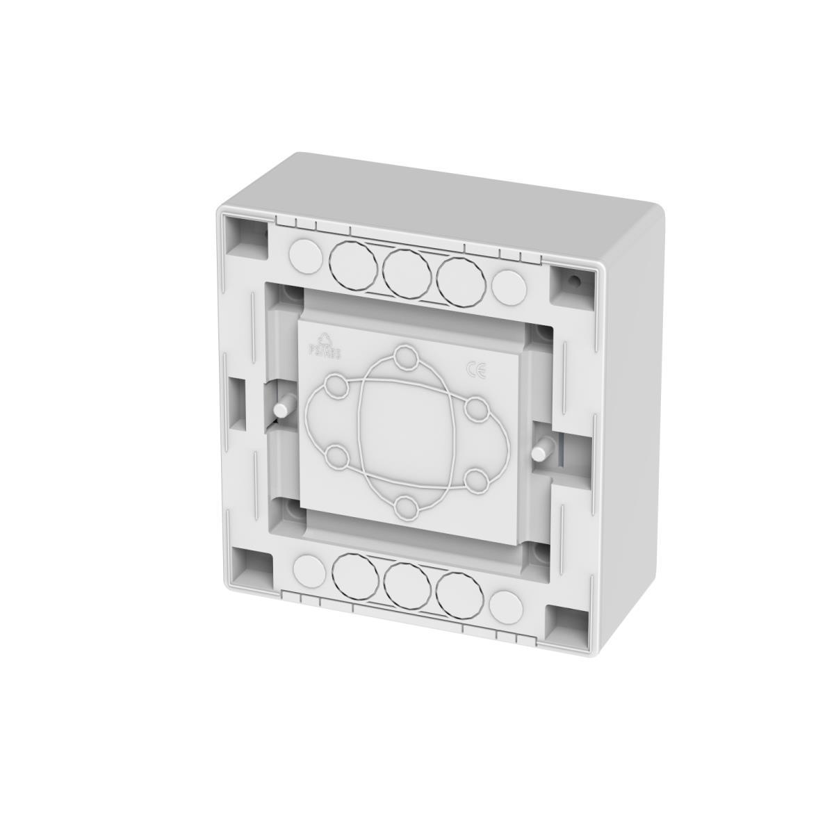 Sicherungskasten Verteilerkasten Aufputzverteiler 6 Module Aufputz IP40,Elektro-Plast,2501-01, 5902012986516
