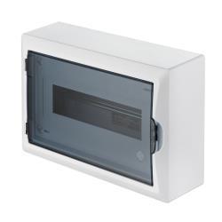Sicherungskasten Verteilerkasten Aufputzverteiler 12 Module Aufputz IP40