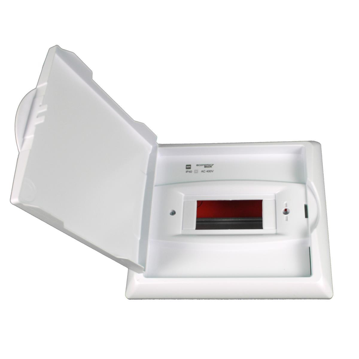 Sicherungskasten Verteilerkasten Unterputzverteiler 6 Module Unterputz IP40,Elektro-Plast,2511-00, 5902431690216