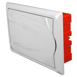 Sicherungskasten Verteilerkasten Unterputzverteiler 12 Module Unterputz IP40,Elektro-Plast,2513-00, 5902431690254