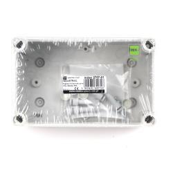 Aufputz Schalkasten IP65 Verteilerkasten 170x105x82 transparent Industriegehäuse