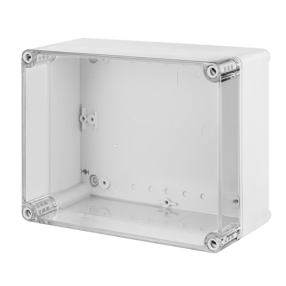 Aufputz Schalkasten IP65 Verteilerkasten 170x135x85 transparent Industriegehäuse,Elektro-Plast,2711-01, 5902431690797