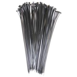 Kabelbinder 100 Stück schwarz 3,6 x 140 mm,Elektro-Plast,WI008048, 5906839008048