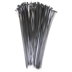 Kabelbinder 100 Stück schwarz 4,8 x 365 mm