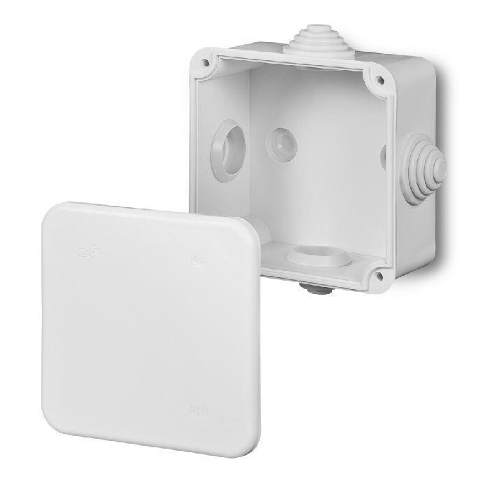 3x Aufputz Installationsgehäuse Verteilerdose Kabel Abzweigkasten IP44,Elektro-Plast,0242-00, 0721947480136