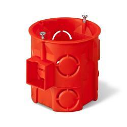 5x Unterputzdose Schalterdose Ø 60 x 61 mm orange Verbindungsdose,Elektro-Plast,0285-01, 0721947481584
