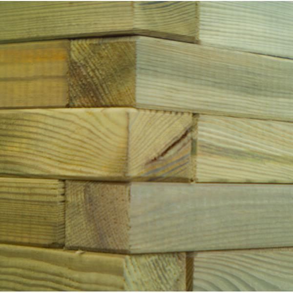 Pflanzkasten sechseckig Blumenkasten Holz Pflanzkübel Holzpflanzkasten Ø 70 cm,unknown,0721947481881, 0721947481881
