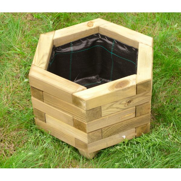pflanzkasten sechseckig blumenkasten holz pflanzk bel. Black Bedroom Furniture Sets. Home Design Ideas