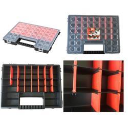 Sortimentskasten Werkzeugkasten Schraubenbox Kleinteilemagazin Organizer C 400,patrol,5901238209645, 5901238209645