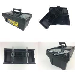 Werkzeugkiste Werkzeugkasten Sortimentskasten Werkzeugkoffer Carbo Line black,patrol,5901238242628, 5901238242628