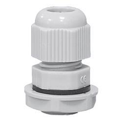 Kabelverschraubung PG9 , IP68 10bar Grau 10 Stück,ELEKTRO-PLAST,34.9, 0721947483342