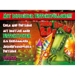 WECO 4923 Dino Hero Bag Jugend Feuerwerk Bodenfontänen Party Sortiment