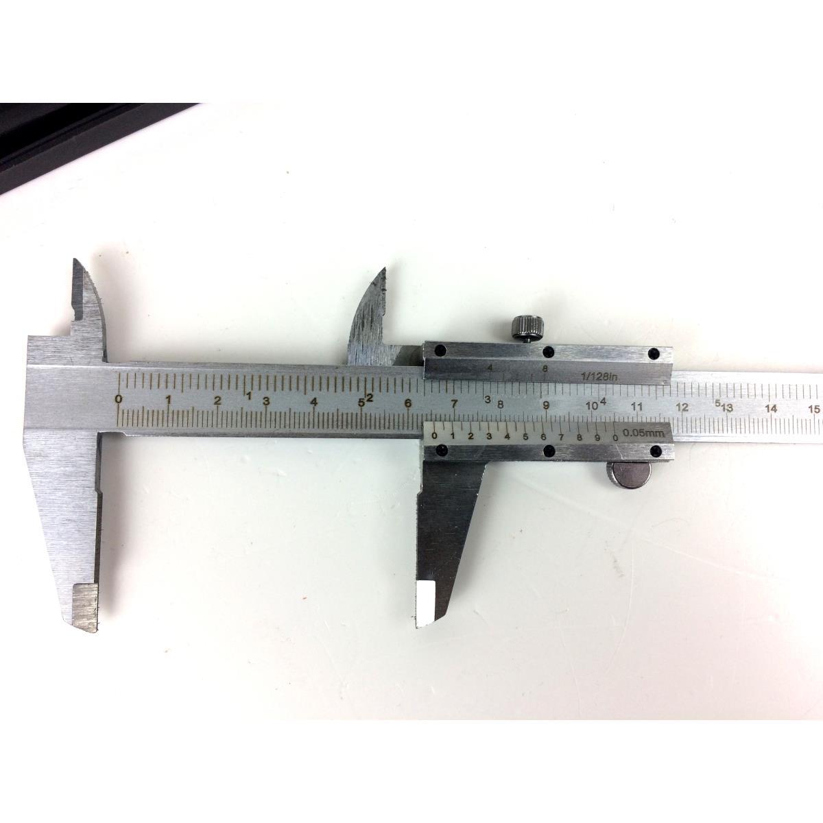 analoger Präzisions Messschieber 150 mm Schieblehre Schublehre mit Etui ,Vagner,000051115096, 6942713102449
