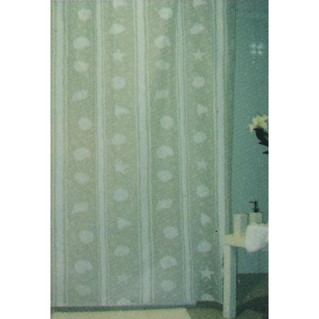 Duschabtrennung mit Ringe Badvorhang   Wannenvorhang Duschvorhang 180 x 180 cm ,UAB,000051182752, 4770364246739