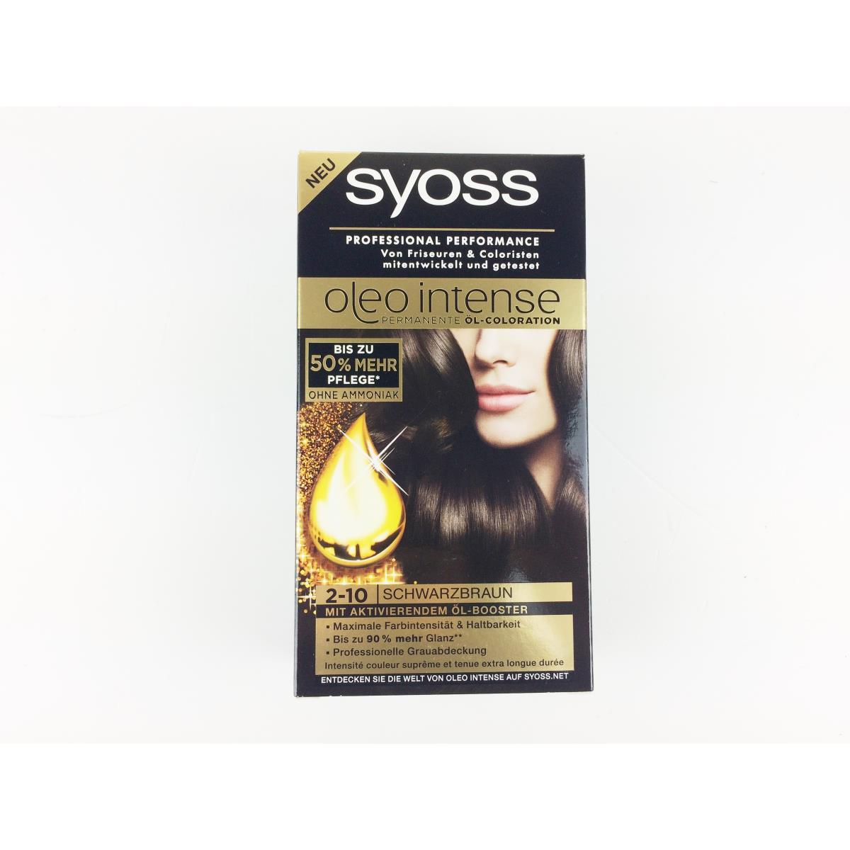 Syoss haarfarbe 2 10