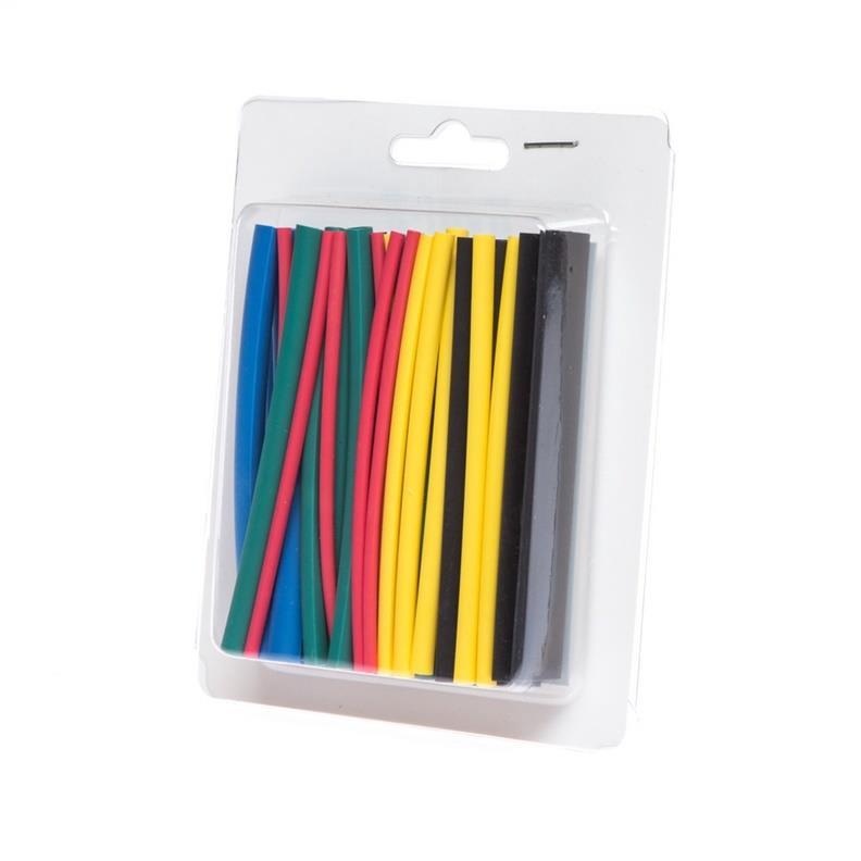 Schrumpfschlauch-Sortiment 36-tlg Set, Schrumpfschläuche bunt Farben,ByCom,Byni-3, 5999554103525