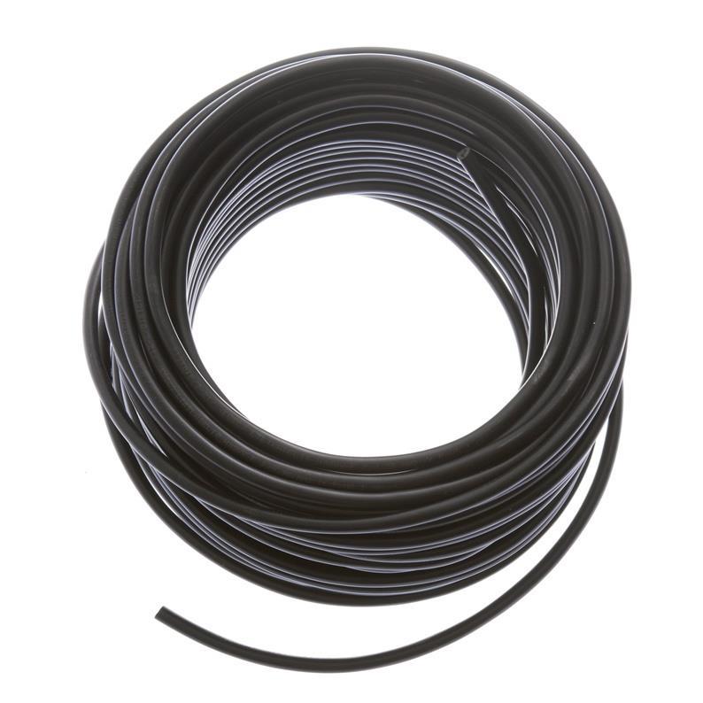 Schlauchleitung 25m flexibles Kabel 2 x 0,75 mm  PVC-Leitung H03VV-F schwarz,Lietkabelis,H03VV-F, 4779016544728