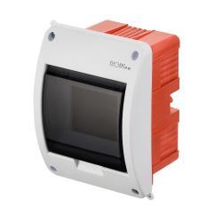 Unterputz Sicherungskasten 5 Module Unterputzverteiler serie ELEGANT weiß,Elektro-Plast,2411-01, 5902431692203