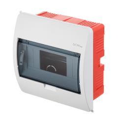 Unterputz Sicherungskasten 8 Module Unterputzverteiler serie ELEGANT weiß